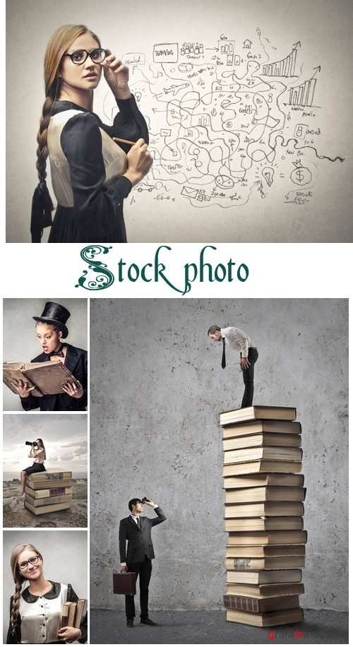 Businessmen's Sight - stock photo
