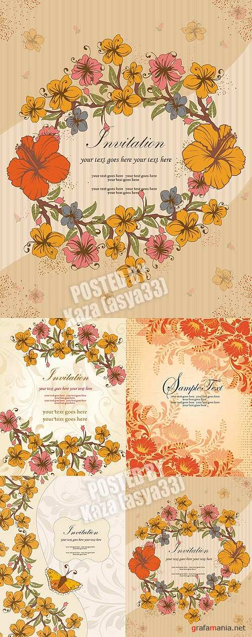 Floral cards 24
