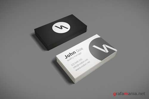 Business Cards Mock-Up Template PSD