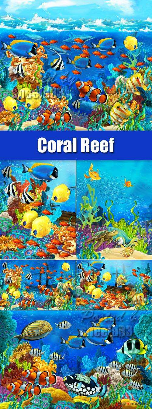 Stock Photo - Coral Reef