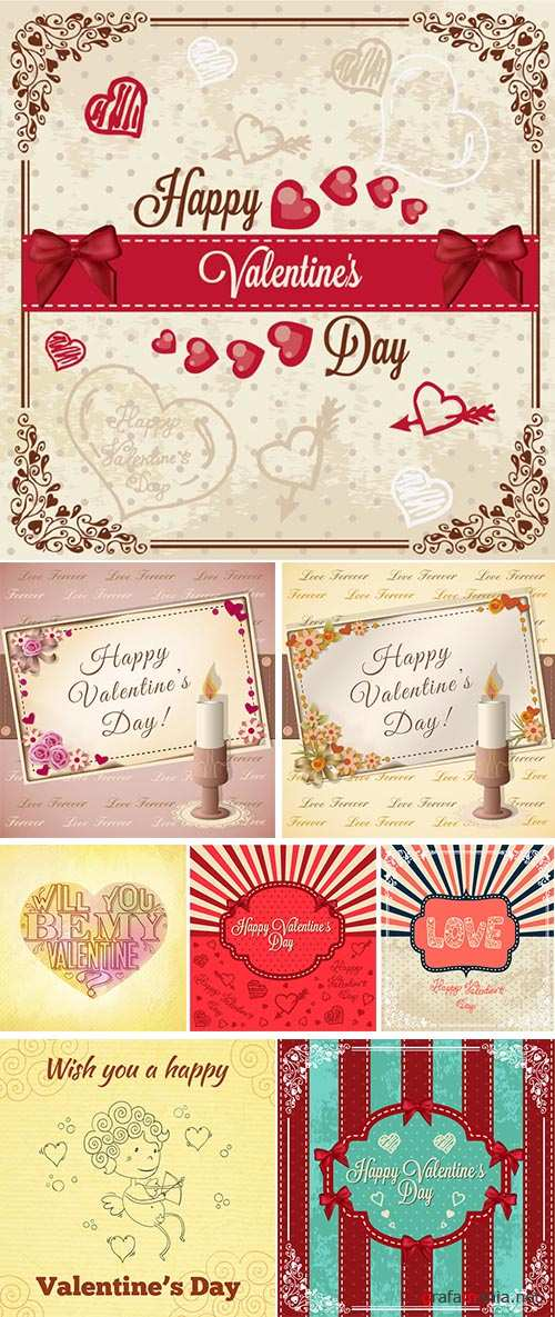 Stock: Vintage love card