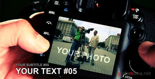 PHOTOGRAPHER - Project for After Effects (Videohive)