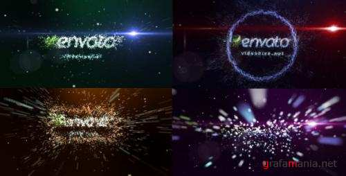 Transformation of particles - After Effects Project (Videohive)
