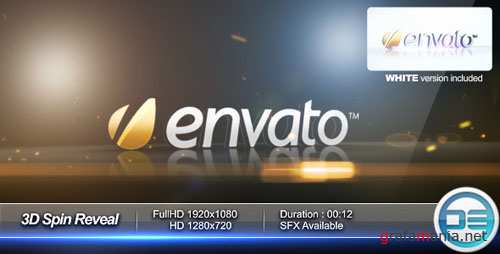 3D Spin Reveal - Project for After Effects (Videohive)