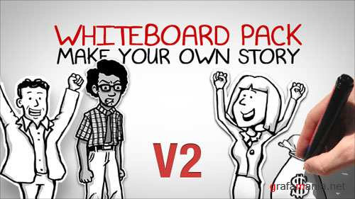 Whiteboard Pack - Make Your Own Story - Project for After Effects (Videohive)