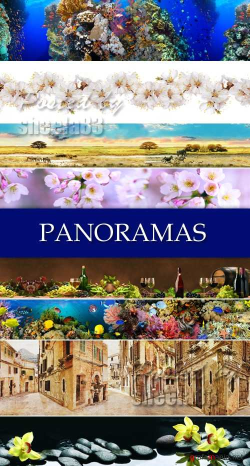 Stock Photo - Various Panoramas