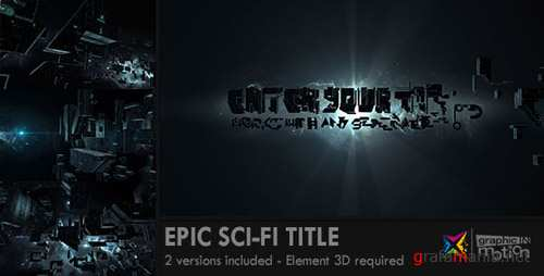 Epic Sci-Fi Title - Project for After Effects (Videohive)