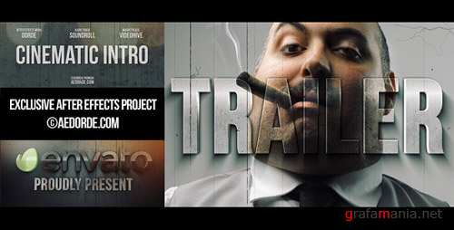 Cinematic Intro / Action Movie Trailer - Project for After Effects (Videohive)