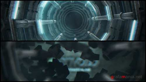 Mechanical SiFi Logo - Project for After Effects (Videohive)