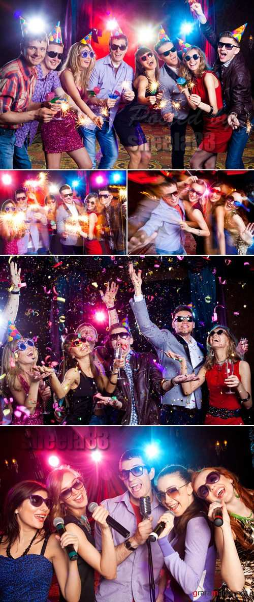 Stock Photo - Party People