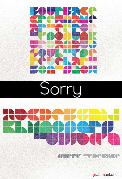 Sorry TypeFace Font