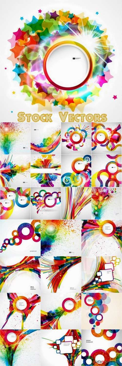 Abstract design element - 25 Eps