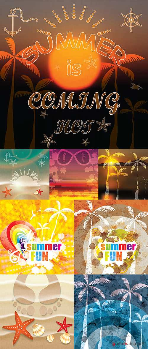 Stock: Summer is coming design
