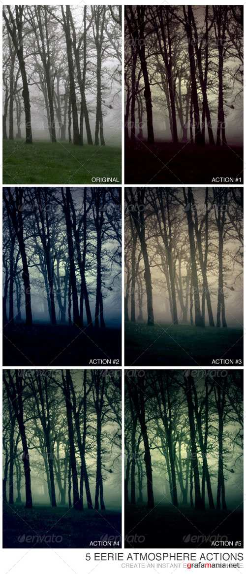 GraphicRiver - 5 Eerie Atmosphere Actions 234988