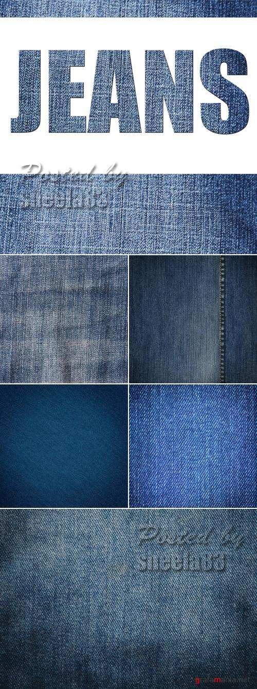 Stock Photo - Jeans Textures 3