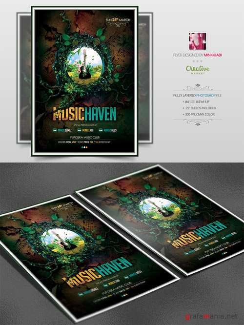 Music Haven Flyer Template