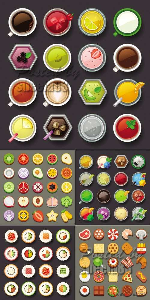 Food Icons Vector 2