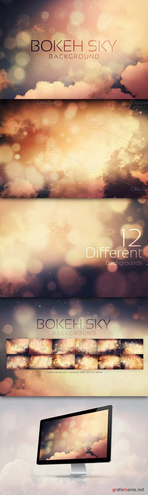 Creativemarket - Bokeh SKY Backgrounds
