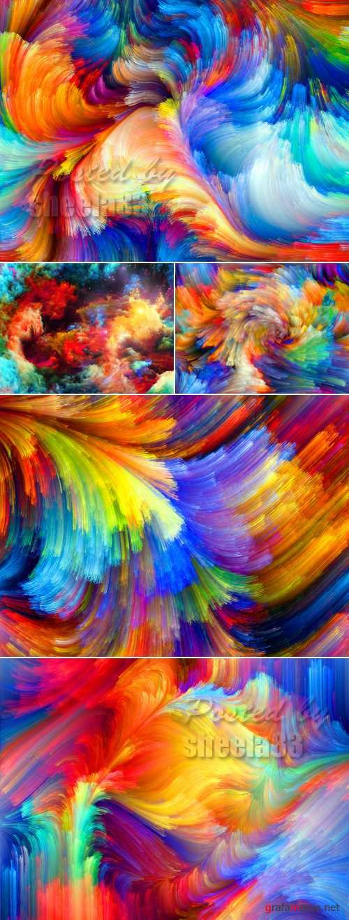 Stock Photo - Abstract Watercolor Backgrounds 2