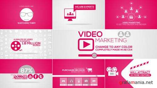 Online Video Marketing Intro - After Effects Project (Videohive)