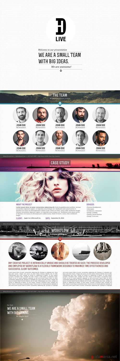CreativeMarket - The Googley Keynote Template