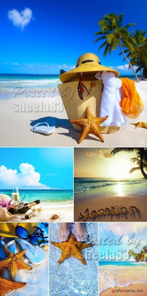Stock Photo - Summer Tropical Vacations 2