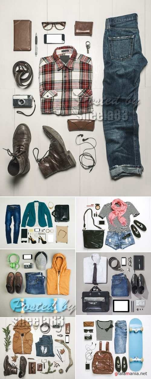 Stock Photo - Casual People Outfit