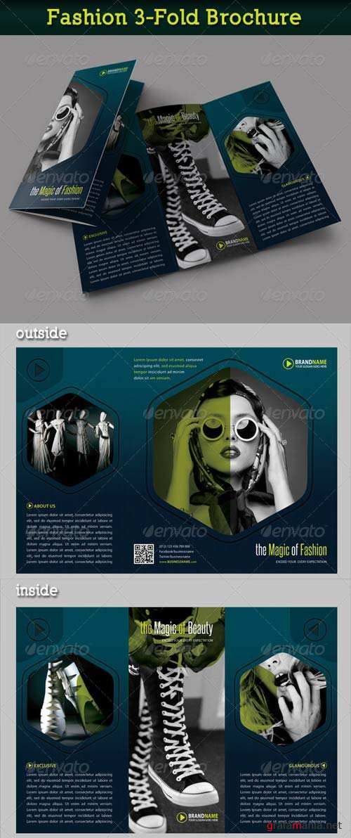 GraphicRiver Fashion 3-Fold Brochure