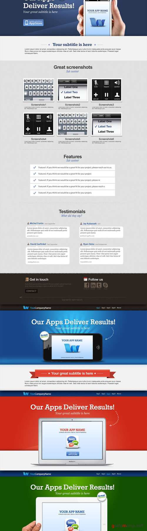 CreativeMarket - Concise deliver results apps collect