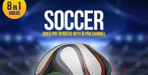Soccer Ball Brazil 8in1 - After Effects Motion Graphics (Videohive)