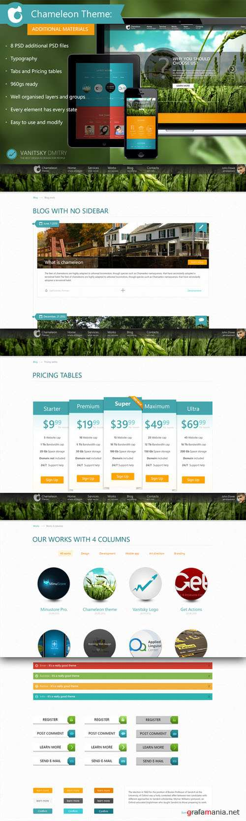 CreativeMarket - Chameleon Theme (Additional)