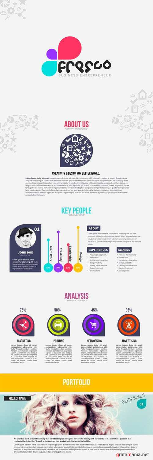 CreativeMarket - Fresco Keynote 21422
