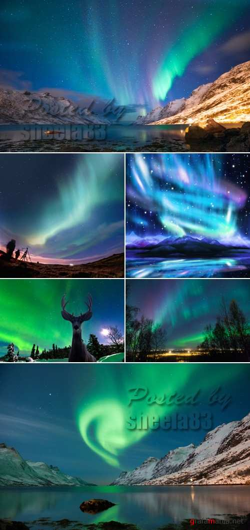 Stock Photo - Nothern Lights