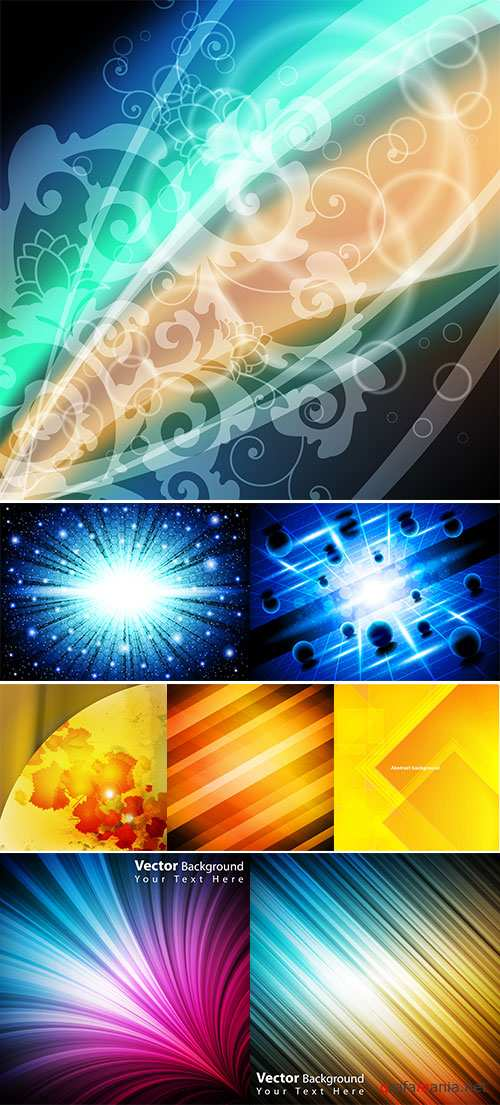 Stock: Colorful abstract background vector