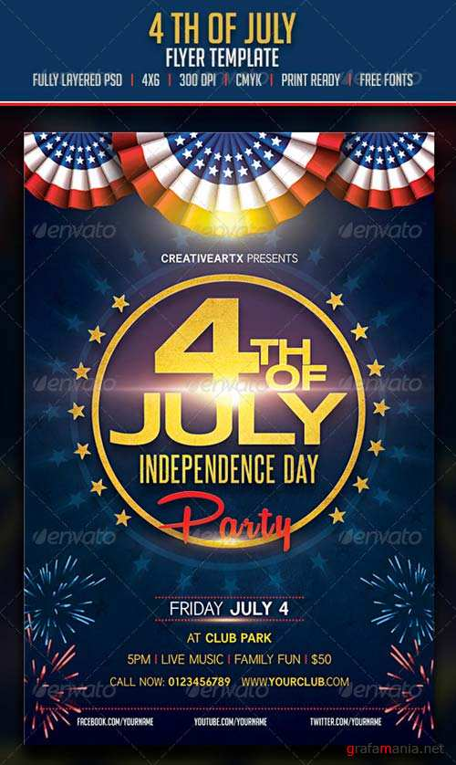 GraphicRiver 4th of July