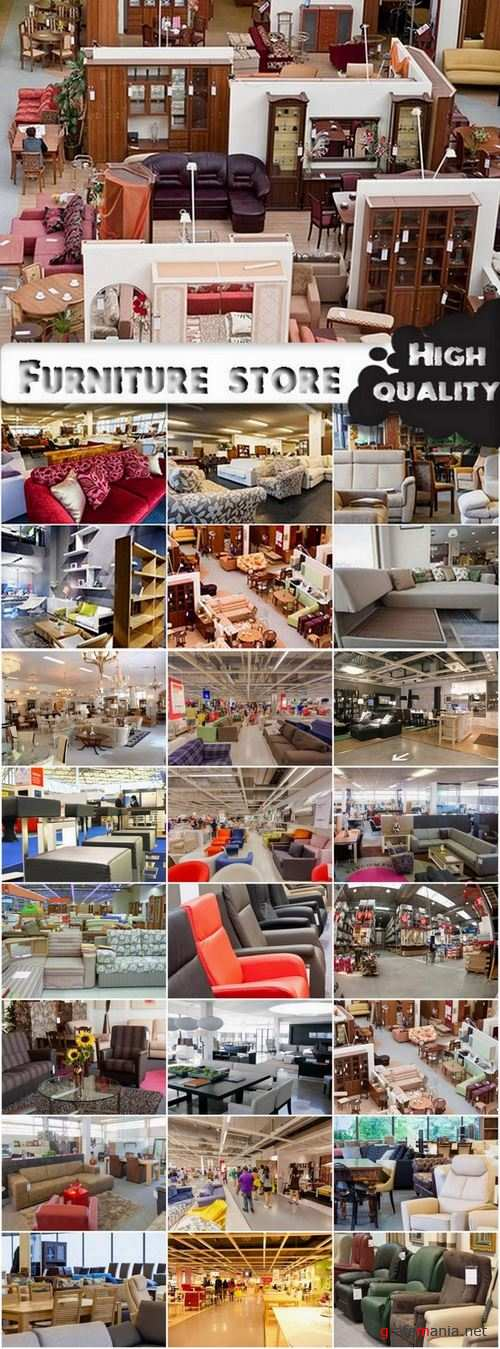 Furniture store and furniture showroom interior stock images - 25 HQ Jpg