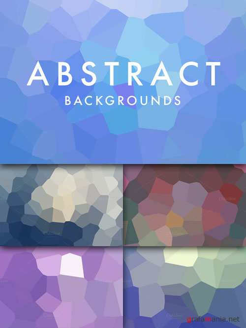 CreativeMarket - 5 Abstract Backgrounds 26445