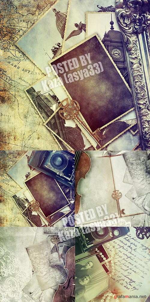 Retro old backgrounds 2