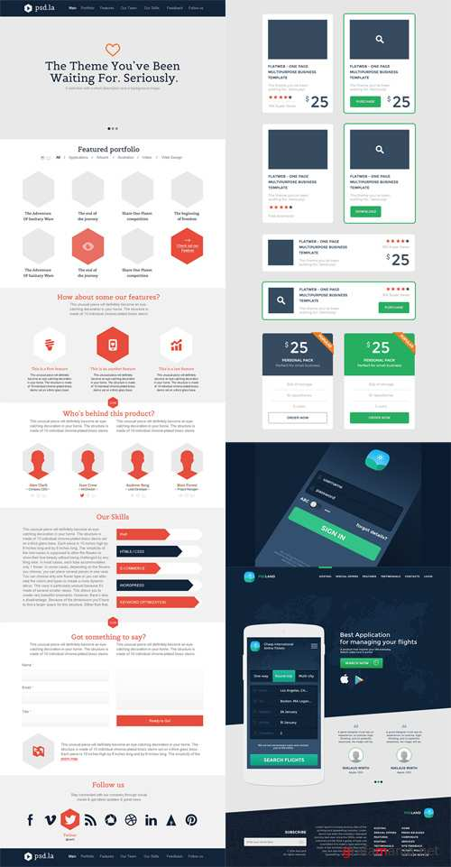 Web Templates and Elements