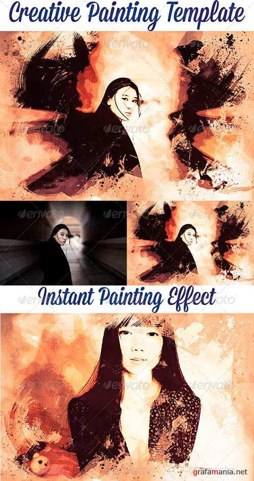 GraphicRiver Creative Painting Template Vol. 2