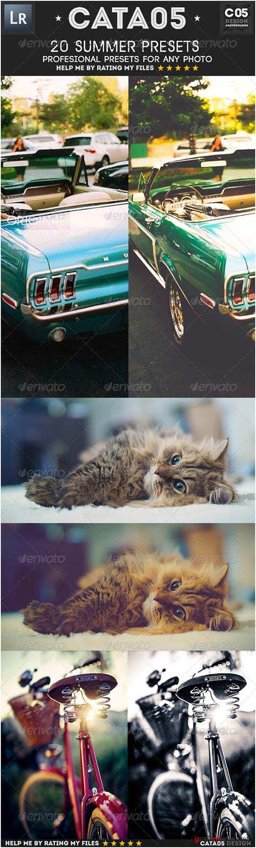 GraphicRiver 20 Summer Presets