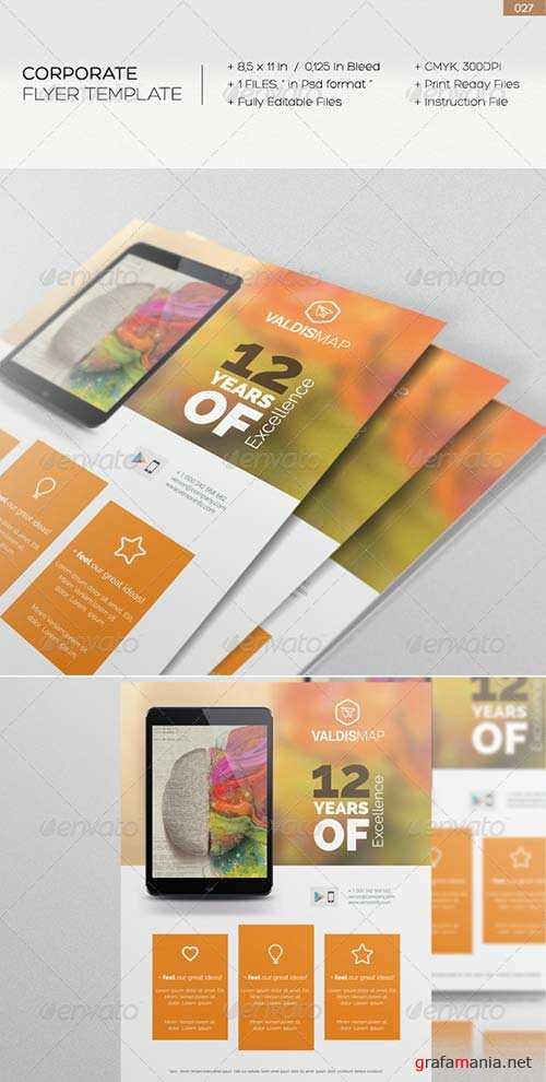 GraphicRiver Corporate Flyer 027