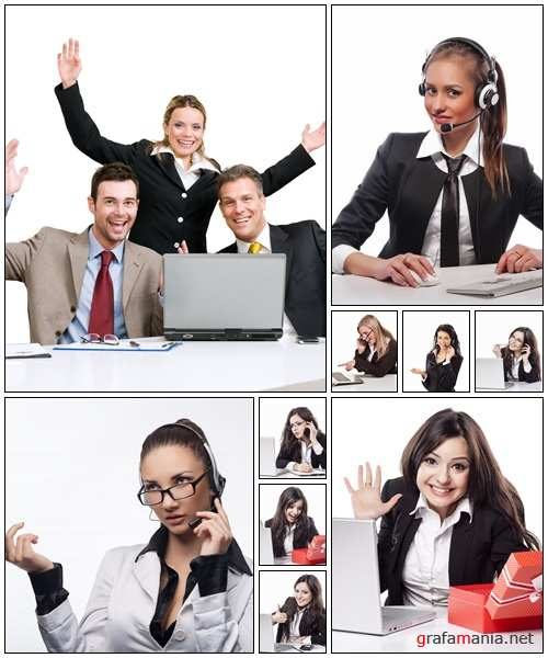 Business people, part 50 - Stock Photo