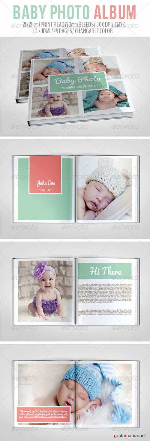 GraphicRiver Baby Photo Album