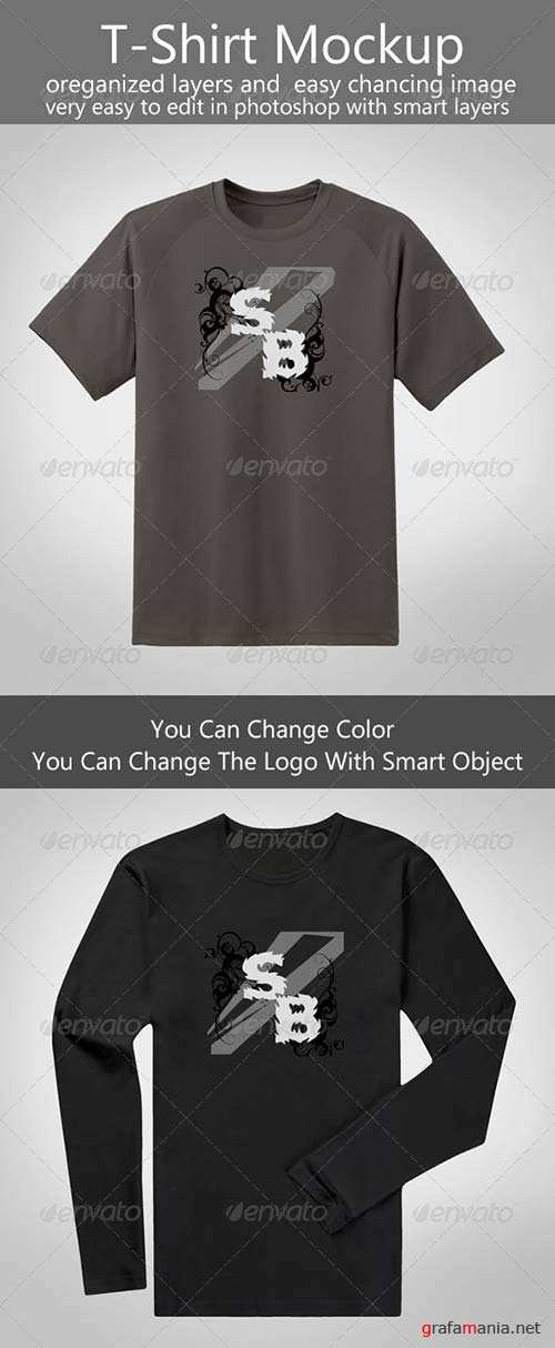 GraphicRiver T-Shirt Mock-up 8696939