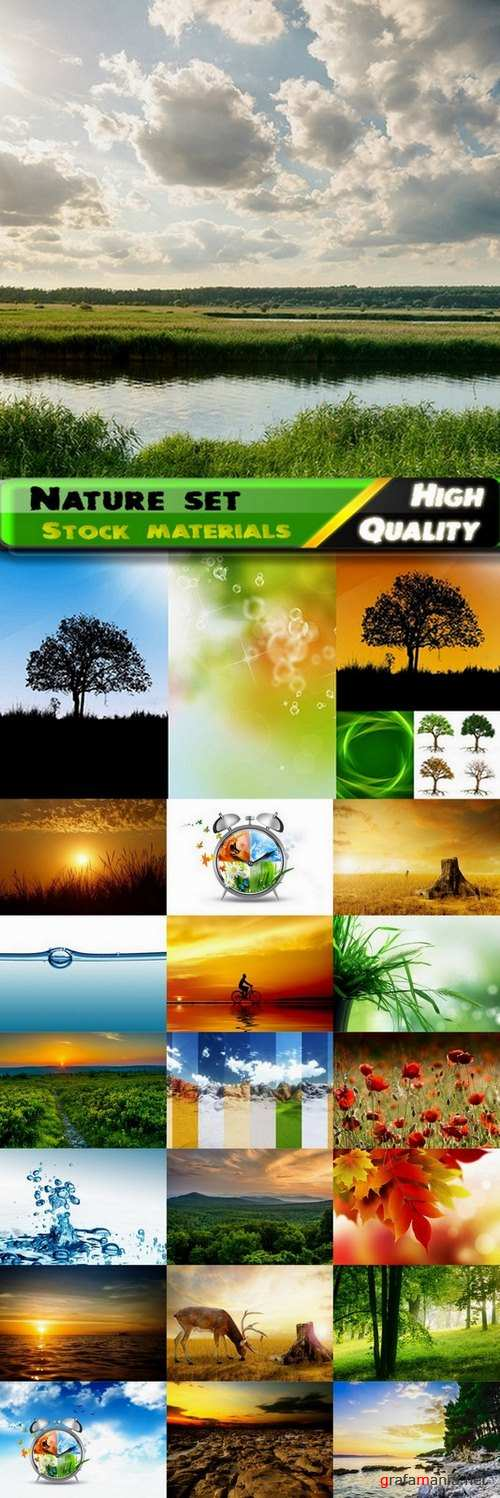 Amazing Nature Photos and nature concept - 25 HQ Jpg