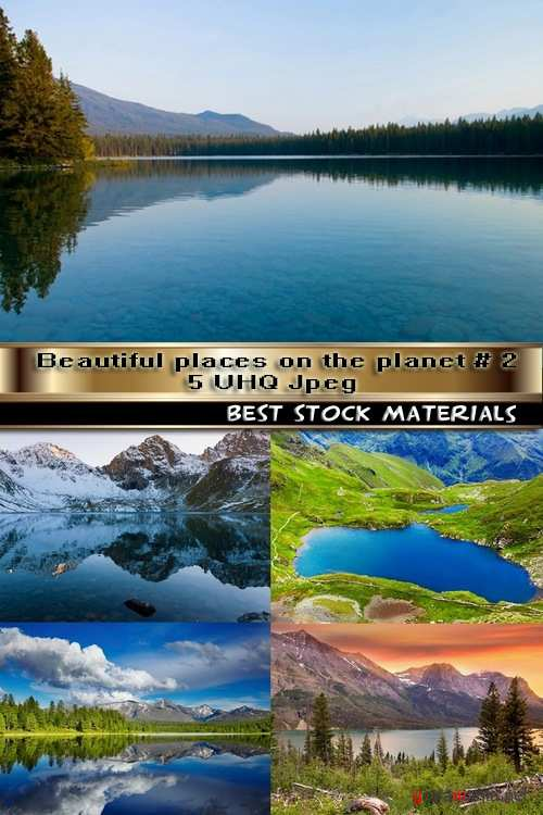 Beautiful places on the planet # 2-5 UHQ Jpeg