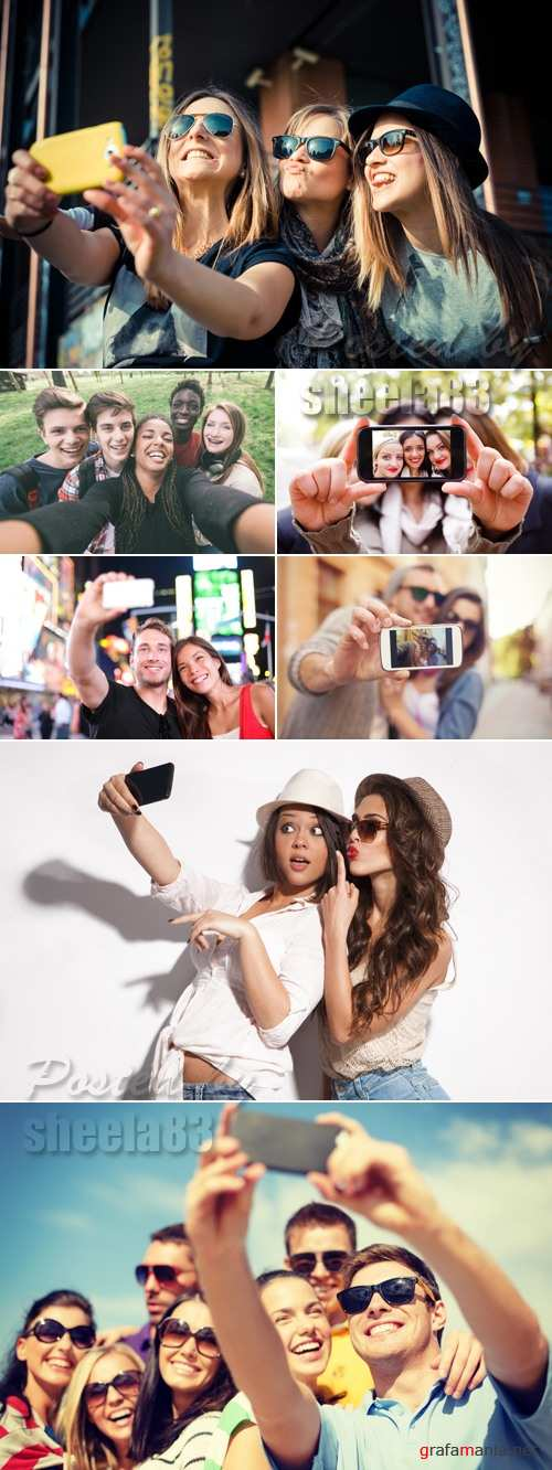 Stock Photo - Selfie