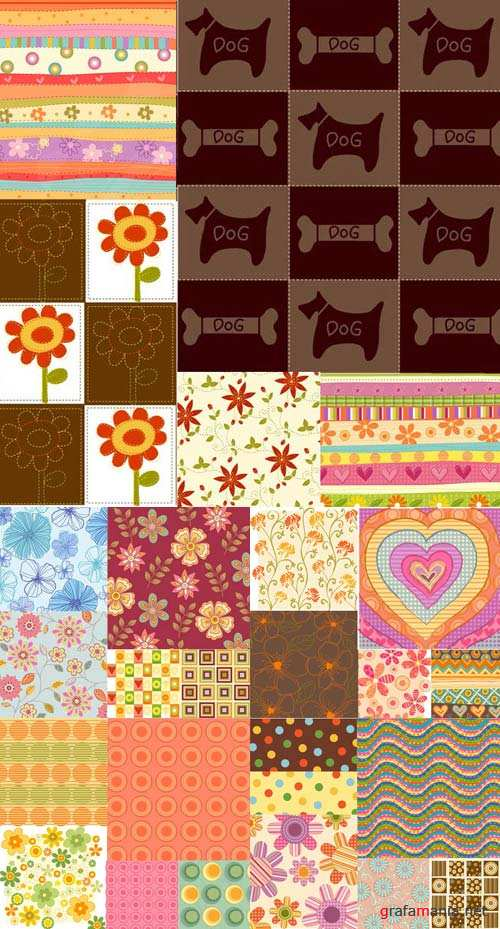 Various vector backgrounds- 22