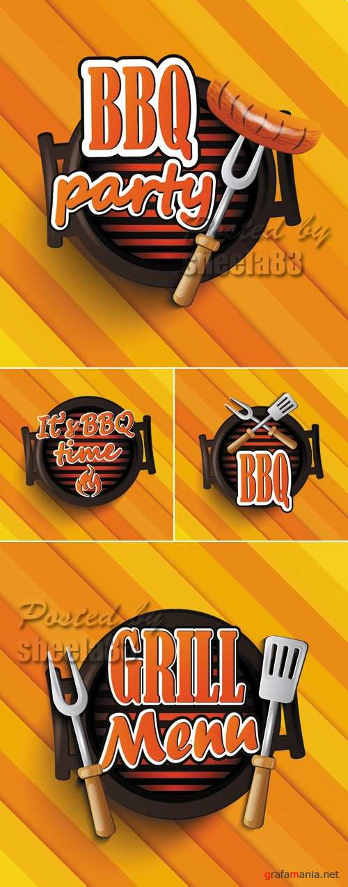Barbeque & Grill Vector